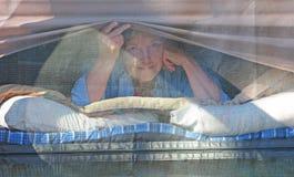 Het Kamperen van de tent Royalty-vrije Stock Afbeeldingen