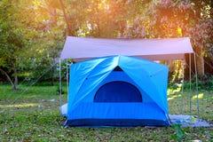Het Kamperen van de tent Royalty-vrije Stock Foto