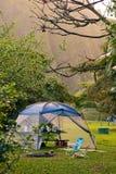 Het kamperen van Hawaï royalty-vrije stock foto