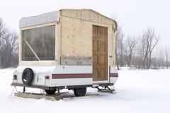 Het kamperen van Hillbilly Stock Fotografie