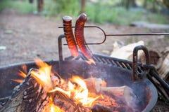 Het kamperen voedsel Royalty-vrije Stock Foto's