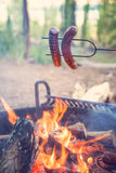 Het kamperen voedsel Royalty-vrije Stock Fotografie