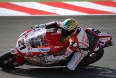 Het Kampioenschap 2008 Ronde 10 van de Wereld van Superbike Stock Foto