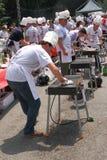 Het Kampioenschap 2009 van de Barbecue van de wereld Stock Foto's