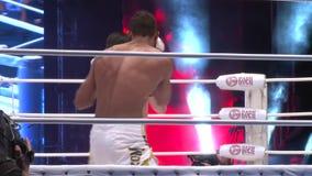 het kampioenschap op strijden zonder regels m-1, in de stad van Orenburg 26 mei stock video