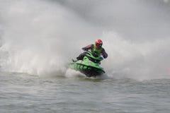 Het kampioenschap van Aquabike. Stock Afbeelding