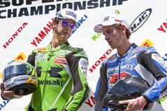 Het Kampioenschap van Canada Superbike van delen (om 1) mag Royalty-vrije Stock Foto's