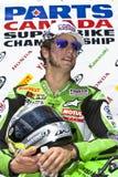 Het Kampioenschap van Canada Superbike van delen (om 1) mag Royalty-vrije Stock Fotografie