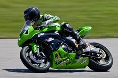 Het Kampioenschap van Canada Superbike van delen (Praktijk) mag Stock Foto