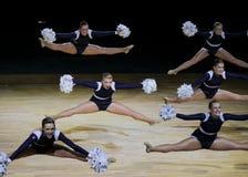Het Kampioenschap van Cheerleading van Finland 2010 Stock Foto's