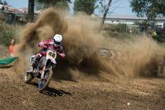Het Kampioenschap van de Wereld van de motocross MX3 en WMX, Slowakije Royalty-vrije Stock Foto's