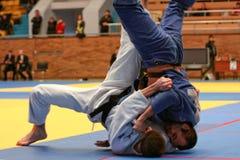 Het kampioenschap van het judo Royalty-vrije Stock Fotografie