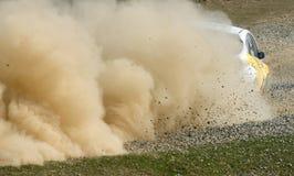 Het kampioenschap van Rallye stock afbeeldingen