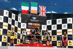 Het Kampioenschap van wereldsuperbike Royalty-vrije Stock Foto