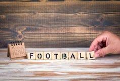 Het kampioenschapskop van de voetbal 2018 wereld, voetbal Stock Afbeelding