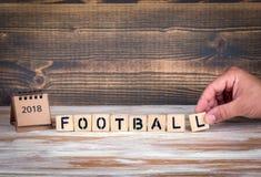 Het kampioenschapskop van de voetbal 2018 wereld, voetbal Stock Fotografie