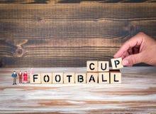 Het kampioenschapskop van de voetbal 2018 wereld, voetbal Royalty-vrije Stock Afbeeldingen