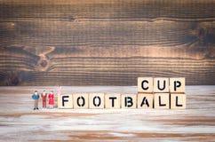 Het kampioenschapskop van de voetbal 2018 wereld, voetbal Royalty-vrije Stock Fotografie