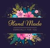 Het kan voor het verfraaien van huwelijksuitnodigingen, groetkaarten en decoratie voor zakken worden gebruikt Stock Fotografie