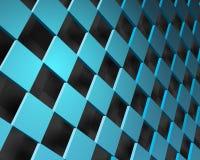 Het kan voor prestaties van het ontwerpwerk noodzakelijk zijn Illustratie van abstracte textuur met vierkanten Patroonontwerp stock illustratie