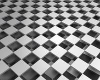 Het kan voor prestaties van het ontwerpwerk noodzakelijk zijn Illustratie van abstracte textuur met vierkanten Patroonontwerp vector illustratie