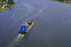 Het kanaal stock afbeeldingen