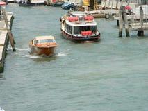 Het Kanaal Grande van Venetië stock foto's