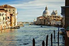 Het kanaal Grande van Veneziail Royalty-vrije Stock Foto