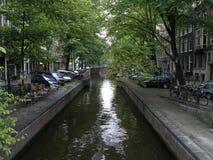 Het kanaal van Amsterdam royalty-vrije stock foto