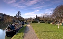 Het Kanaal van Bathampton stock foto's
