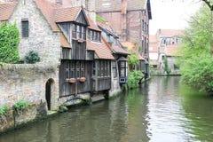 Het Kanaal van Brugge Stock Afbeelding