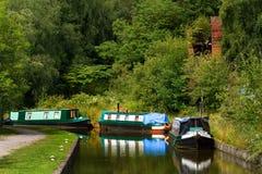 Het Kanaal van Caldon Stock Foto's