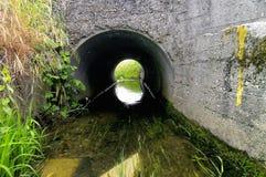Het kanaal van de irrigatie Stock Fotografie