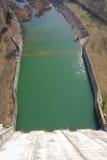 Het kanaal van de rivier Royalty-vrije Stock Foto's