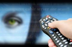 Het kanaal van de technologie Stock Foto