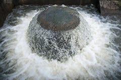 Het kanaal van de waterafleidingsactie Royalty-vrije Stock Afbeelding