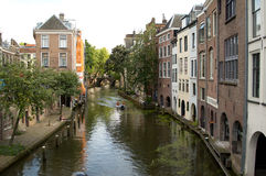 Het kanaal van Delft stock afbeelding