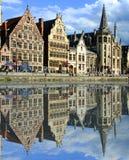 Het kanaal van Gent royalty-vrije stock afbeelding