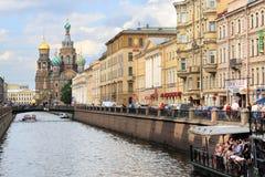 Het Kanaal van Griboyedov Stock Afbeeldingen