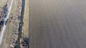 Het kanaal van het lagere niveau van het irrigatiesysteem van gebieden Infrastructuur voor de cultuur van rijst royalty-vrije stock afbeeldingen