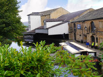 Het Kanaal van Leeds Liverpool in Burnley Lancashire royalty-vrije stock afbeeldingen