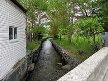Het kanaal 2016 van Newfoundland Brigus Royalty-vrije Stock Foto's