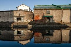 Het Kanaal van Otaru Stock Afbeeldingen