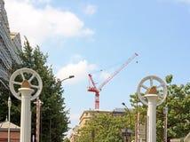 Het Kanaal van Ourcq Parijs Frankrijk Stock Afbeeldingen