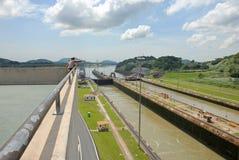 Het Kanaal van Panama Royalty-vrije Stock Fotografie