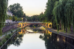 Het kanaal van Straatsburg Royalty-vrije Stock Fotografie