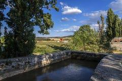 Het kanaal van Valladolid stock afbeelding