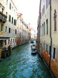 Het kanaal van Venetië Stock Afbeeldingen