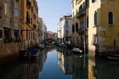 Het kanaal van Venetië Stock Foto