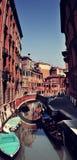 Het kanaal van Venetië Royalty-vrije Stock Foto's